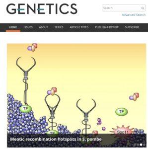 Genetics cover image