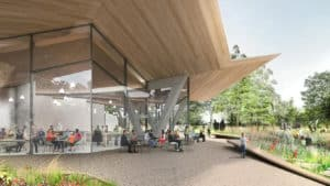Rendering of the new Arkansas Arts Center in Little Rock