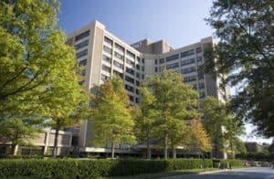 exterior of Baptist Health Medical Center in Little Rock