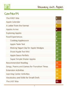 WISE Table of Contents image