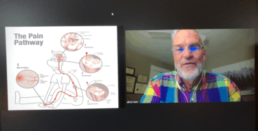 computer screen image of Don Teater's presentation