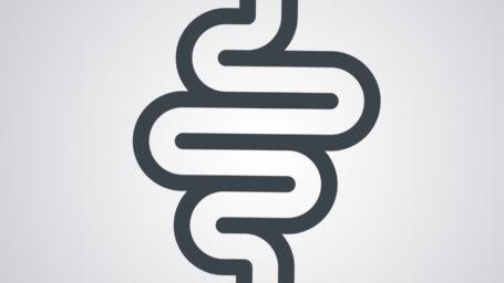 Image of a stylized colon