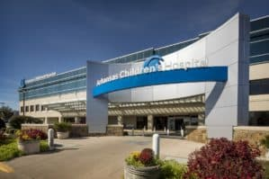 Exterior of Arkansas Children's Hospital