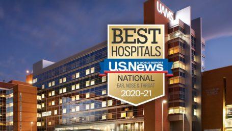 Best Hospitals. U.S. News & World Report. National. Ear, Nose & Throat. 2020-21.