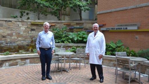 Thomas Kelly, Ph.D., (left) and Richard Nicholas, M.D.