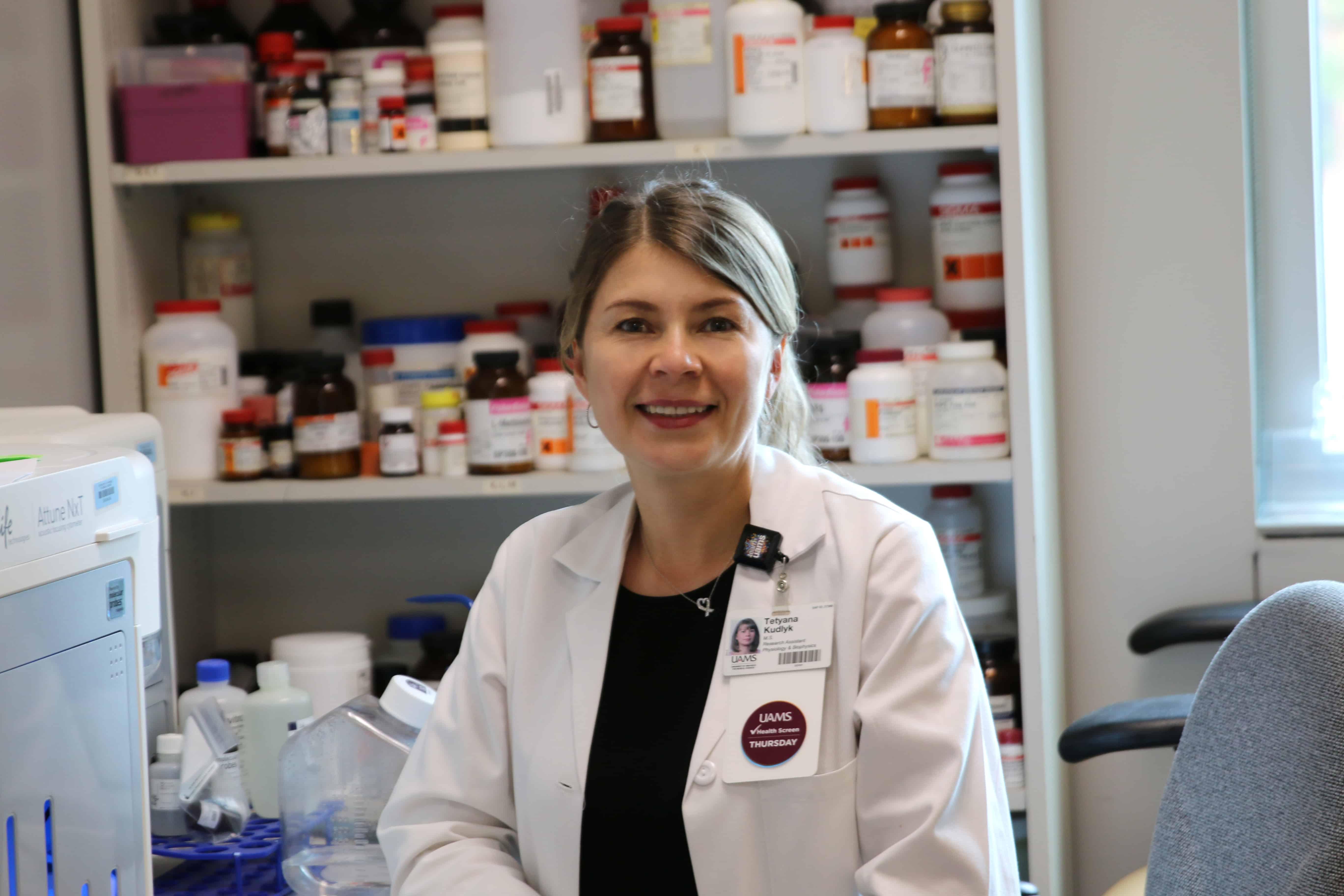 Tetyana Kudlyk, research associate