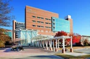 exterior of UAMS Aging Institute