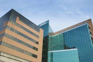 Winthrop P. Rockefeller Cancer Institute exterior