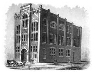 First UAMS College of Medicine Building