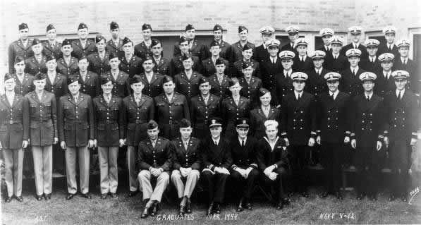 Specialized Training Army and Navy Graduates 1944