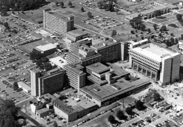 aerial_UAMS_Markham_1977