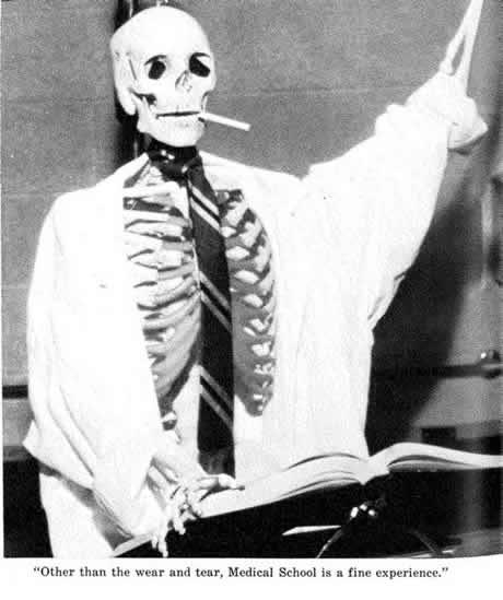 1971 Yearbook Skeleton