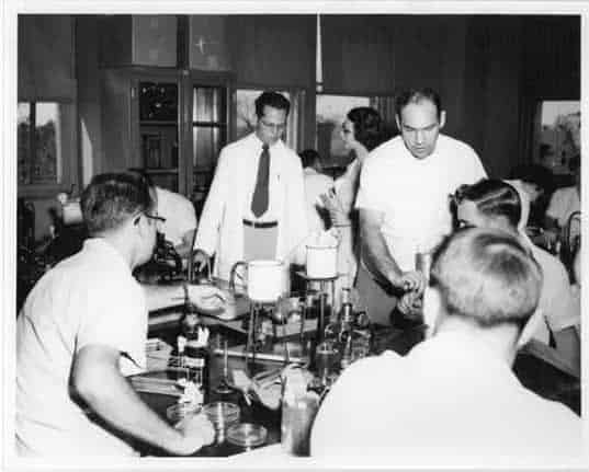 Bacteriology Lab 1950