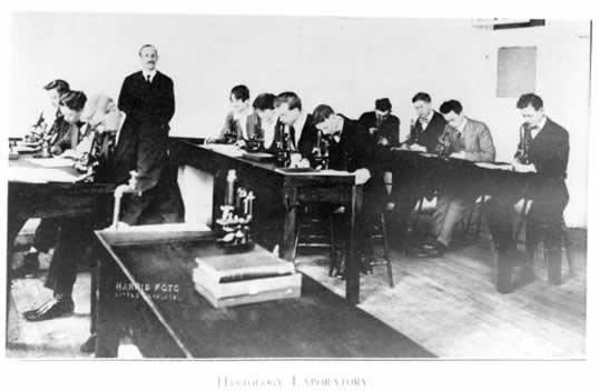 UAMS Histology Lab - 1916