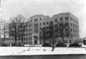 exterior of old medical school building