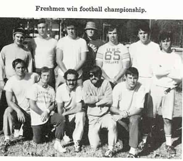 1971 Freshmen Football Champs