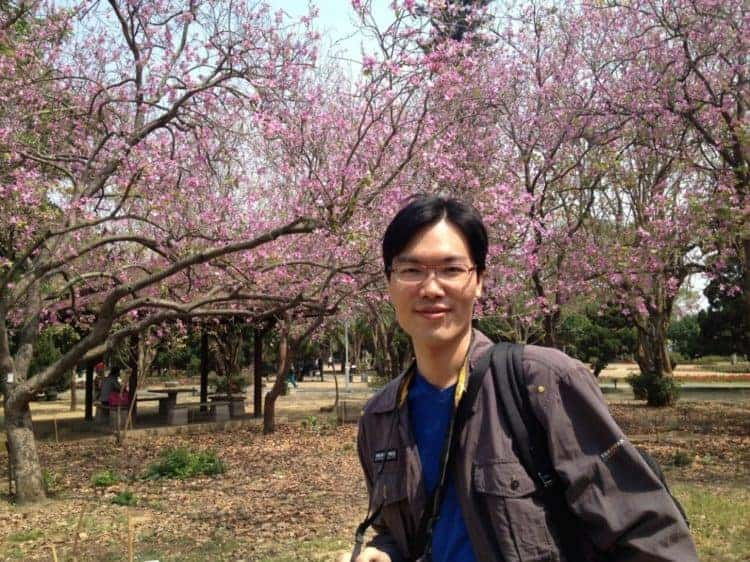 Yu-Ting Chen, M.D., in a casual outdoor setting