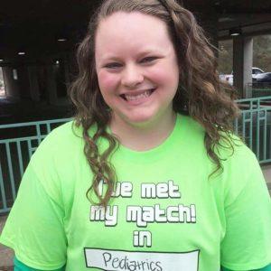 Carly Roark on Match Day