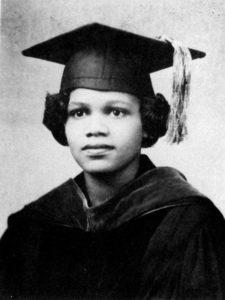 Edith Irby Jones graduation photo