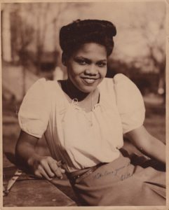 Edith Irby Jones college picture