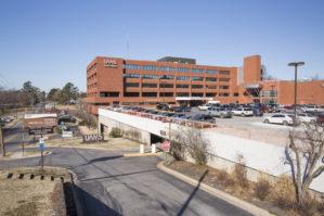Exterior of UAMS Northwest campus