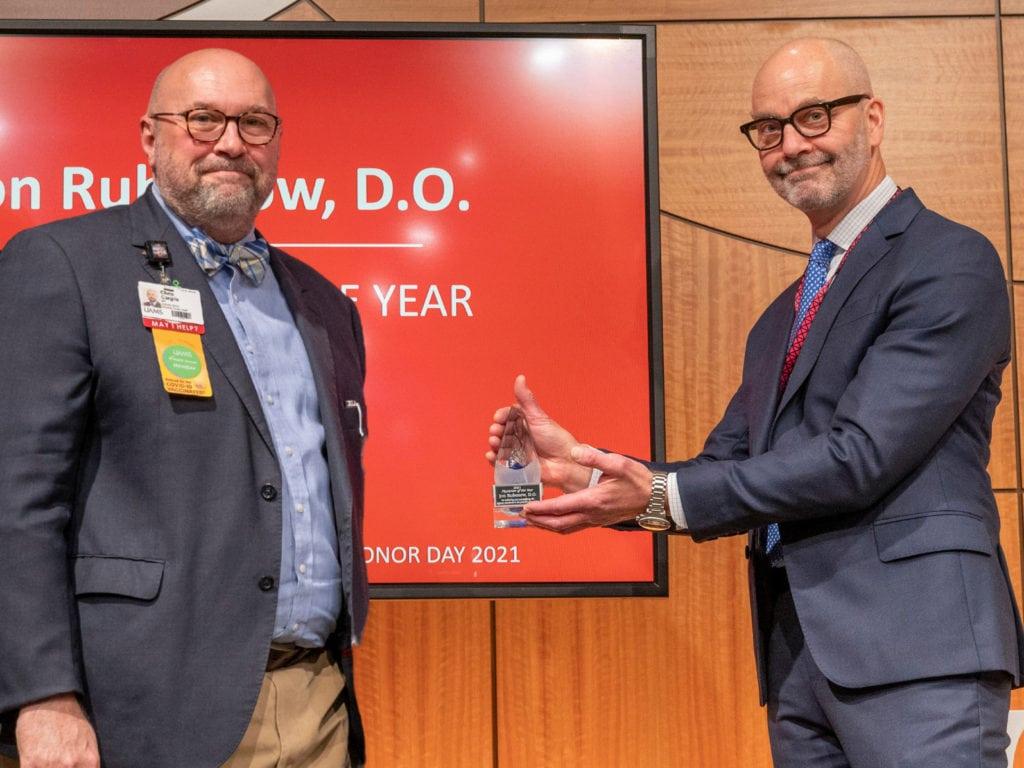 Drs. Chris Cargile and Jon Rubenow