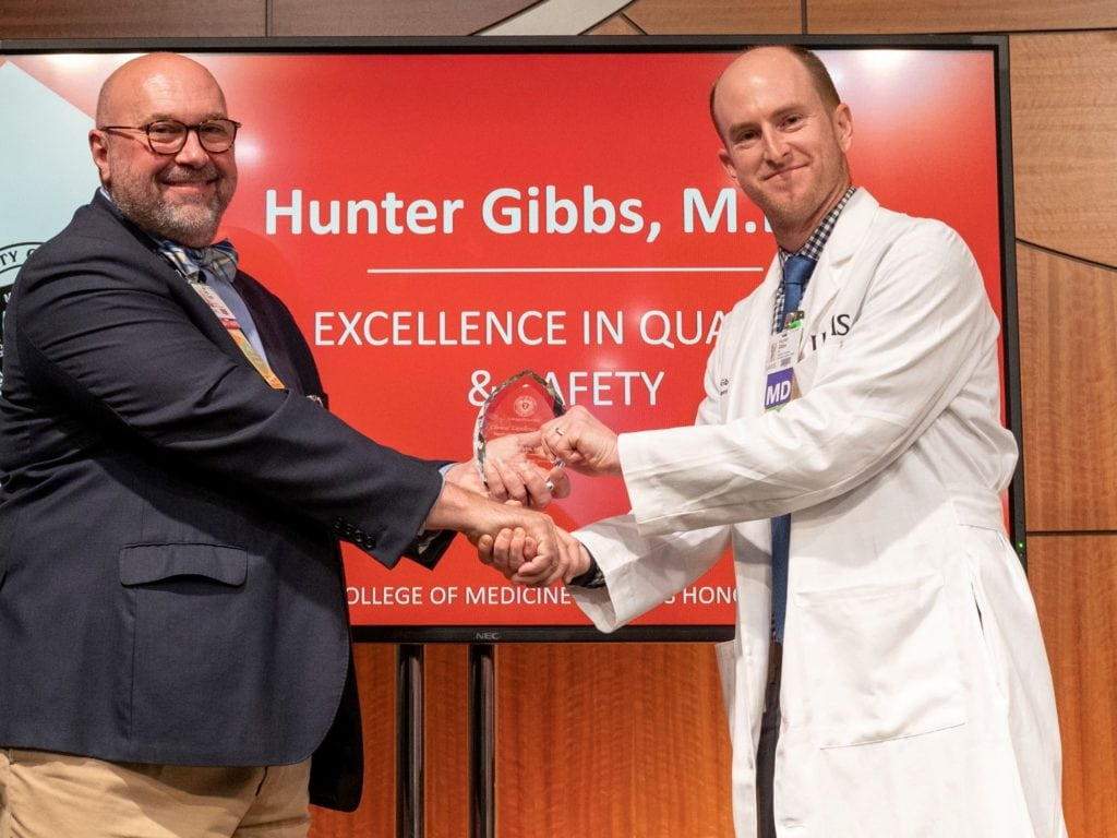 Drs. Chris Cargile and Hunter Gibbs
