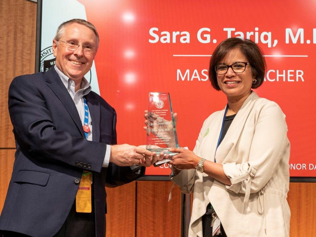 Drs. Robert Hopkins and Sara Tariq