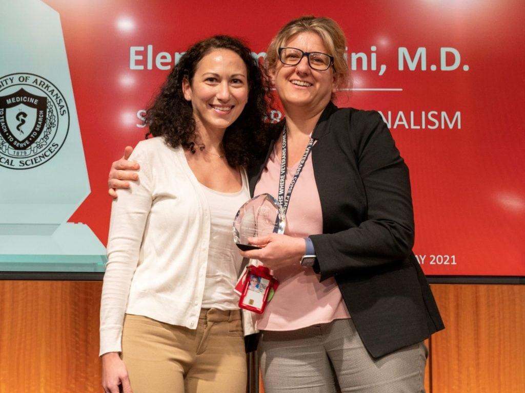 Drs. Spyridoula Maraka and Elena Ambrogini