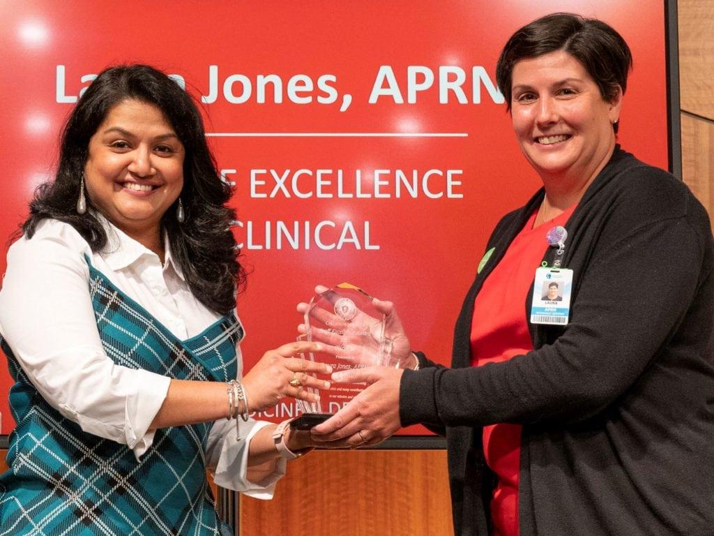 Dr. Sowmya Patil and Laura Jones, APRN