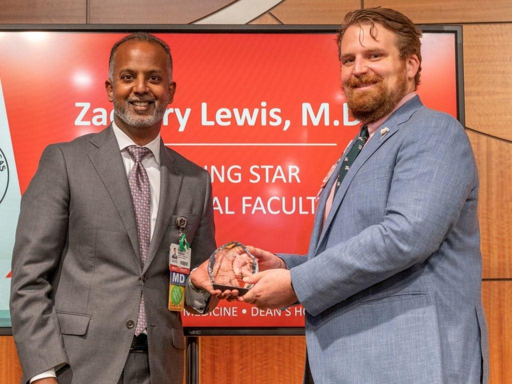 Drs. Tony Seupaul and Zachary Lewis