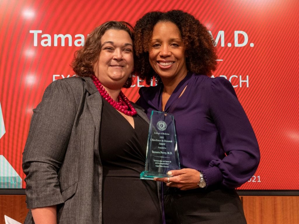 Drs. Jessica Snowden and Tamara Perry
