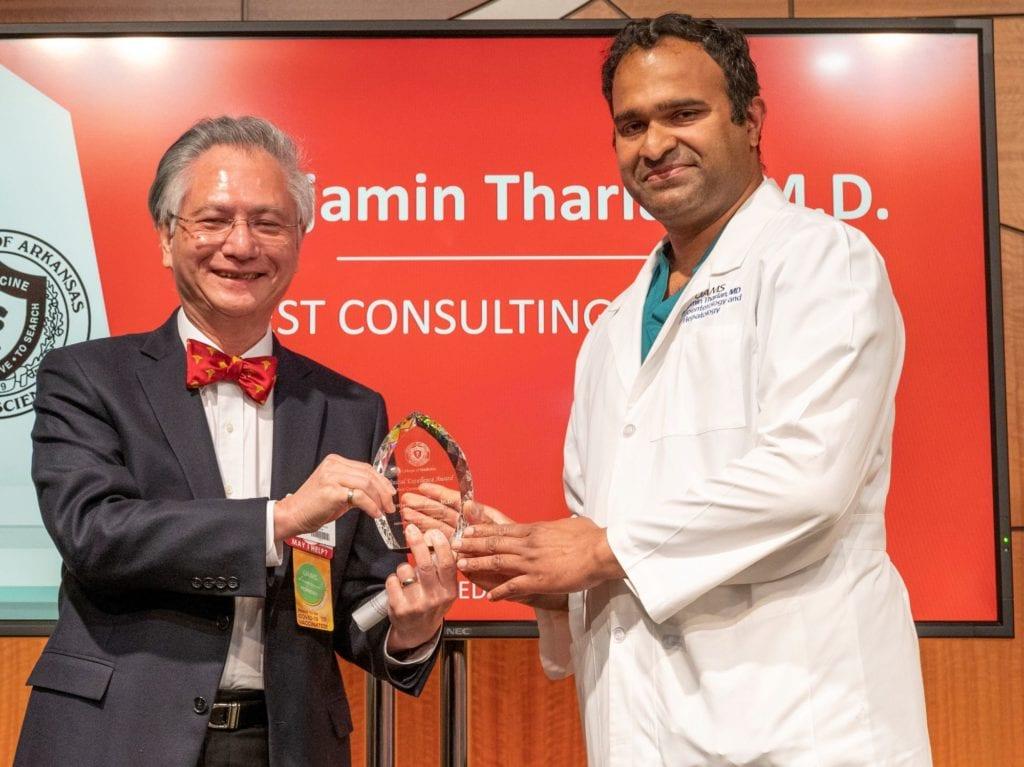 Drs. Edward Yeh and Benjamin Tharian